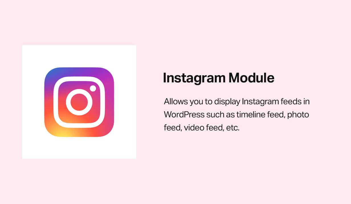 Instagram module