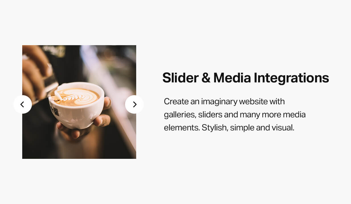 Slider and media